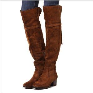 Frye Clara Tassel Over the Knee Boot